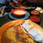 Sabroso Mexican Grille - Greenville, SC. chicken wrap