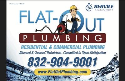 Flat-Out Plumbing - Universal City, TX