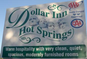 Dollar Inn, Hot Springs SD