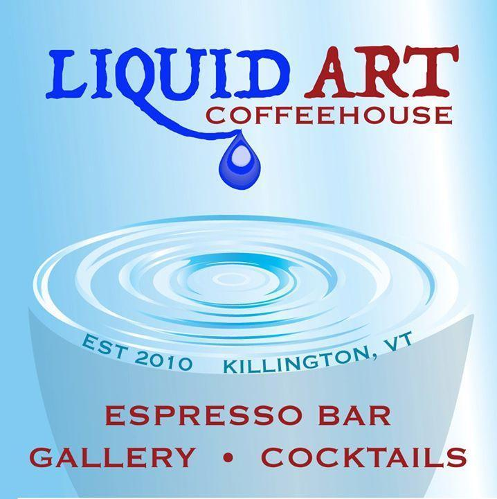 Liquid Art Coffeehouse, Killington VT