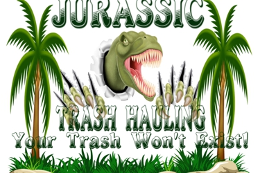 Jurassic Trash Hauling
