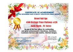 Resort Nail & Spa - Fort Worth, TX