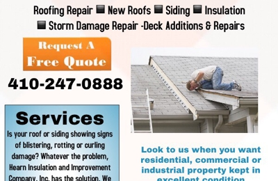 Hearn Insulation and Improvement Co - Halethorpe, MD