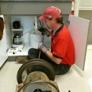 Drain Pro Sewer Service - Tuscaloosa, AL. Ross unclogging a sink drain