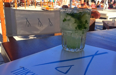 Nikki Beach - Miami Beach, FL. The best mojitos in Miami! Make sure you get a pitcher you will thank yourself