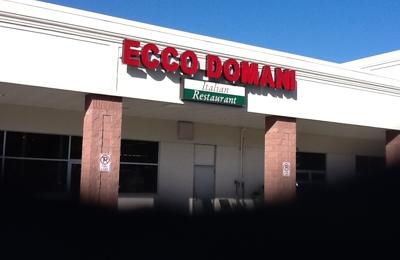 Ecco Domani Italian Restaurant & Pizzeria - Coopersburg, PA