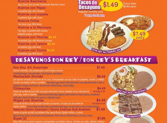 Don Rey Mexican Restaurant - Houston, TX
