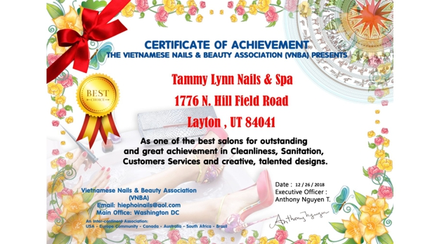 Tammy Lynn Nails And Spa - Layton, UT