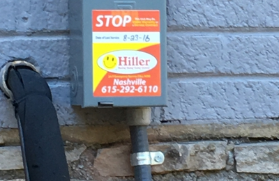 Hiller Plumbing, Heating, Cooling & Electrical - Nashville, TN. Bi-annual check ups on our system from Hiller- great preventative maintenance team!