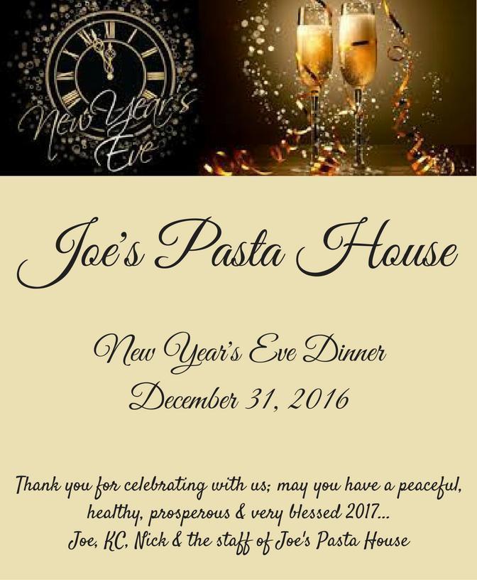 Joe's Pasta House, Rio Rancho NM