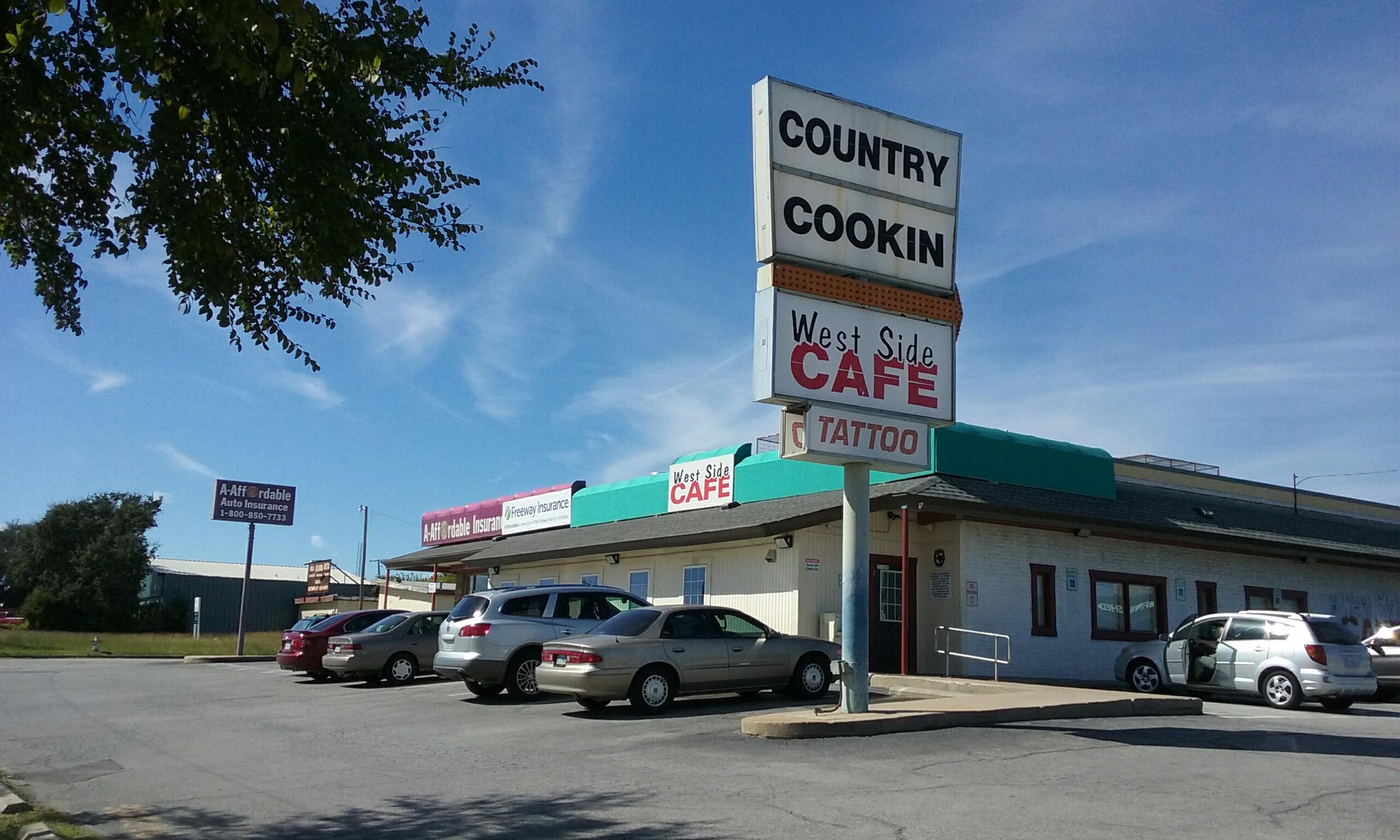 West Side Cafe Fort Worth
