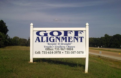 Goff Alignment - Jackson, TN