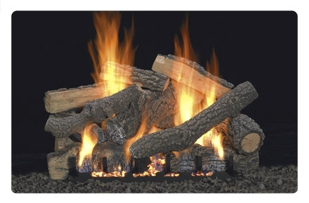 Empire gas fireplace logs