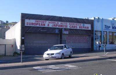 Import World Auto Services - Daly City, CA