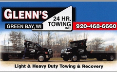 Glenn's 24 Hour Towing Inc