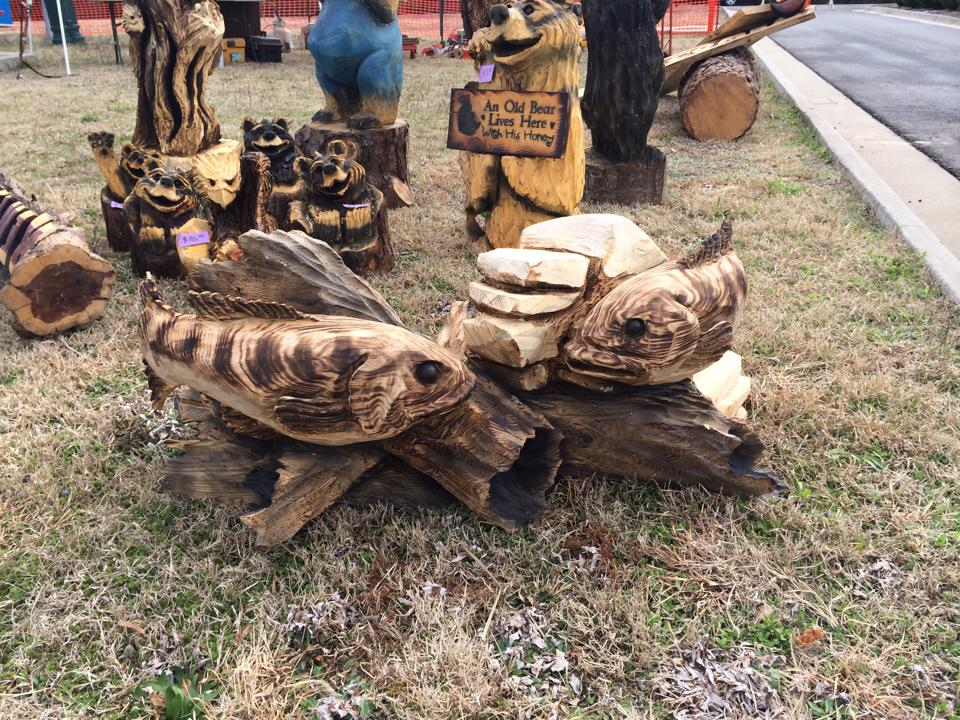 Eagle ridge chainsaw carvings westwood loop strafford