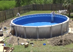 Blue World Pools - Atlanta, GA. All Done!