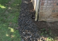 New Vista Construction LLC - Vancouver, WA. Finished French Drain in Front Yard