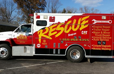 Indy Roadside assistance llc. - Middletown, IN. SERVICE TRUCK #1