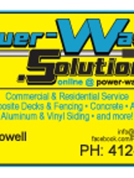Power-Washing Solutions