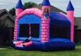 Bouncin Craze Delivery - Edmond, OK. Princess Castle Unit 15X15X15