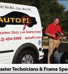 Auto P. I. Used Car Inspections - Mobile Service - Austin, TX