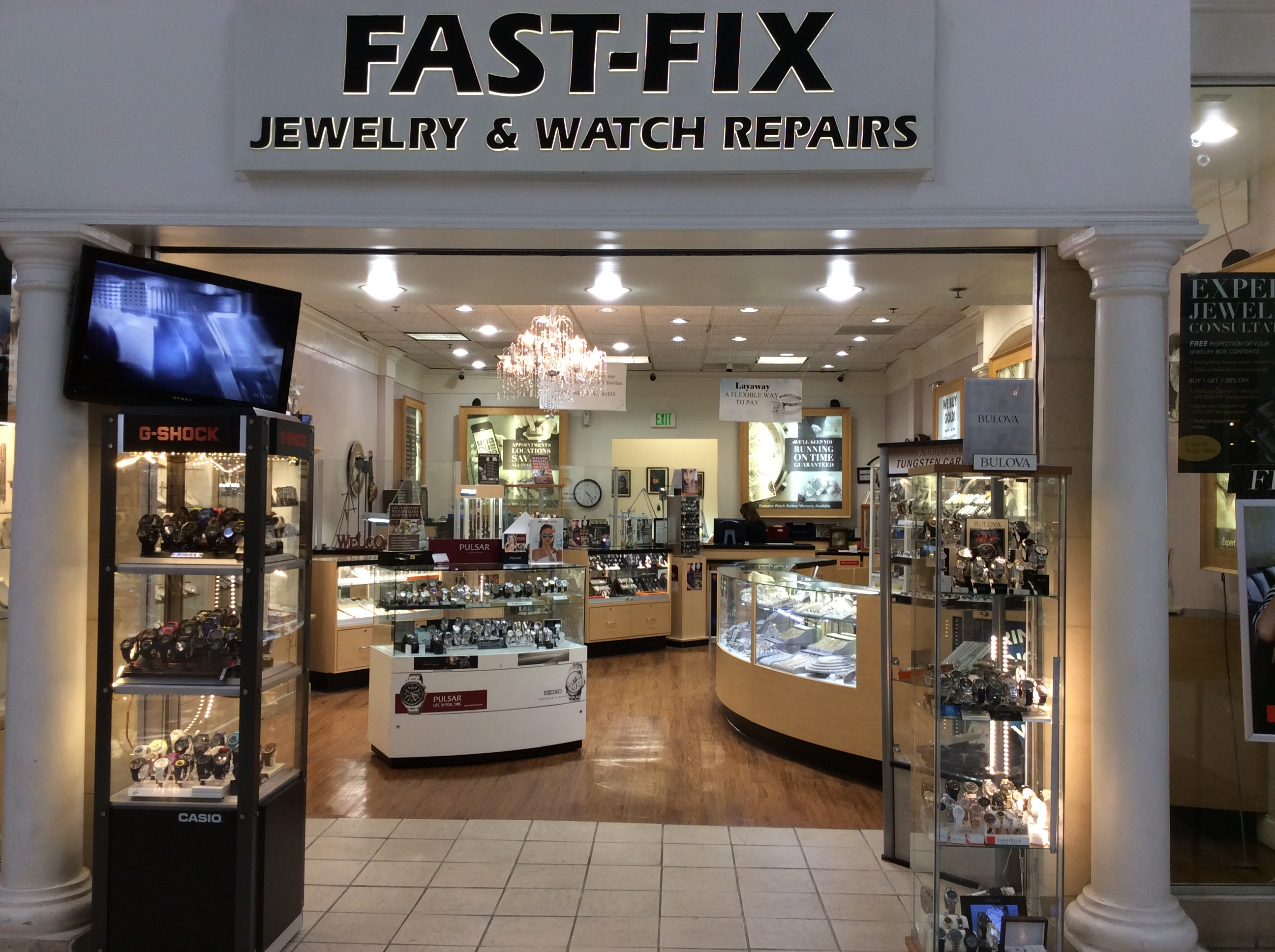 Fast fix jewelry and watch repairs san bernardino ca for Fast fix jewelry repair