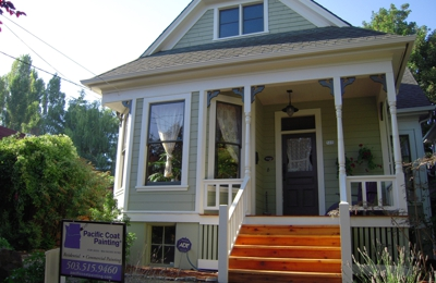 Pacific Coat Painting - Portland, OR