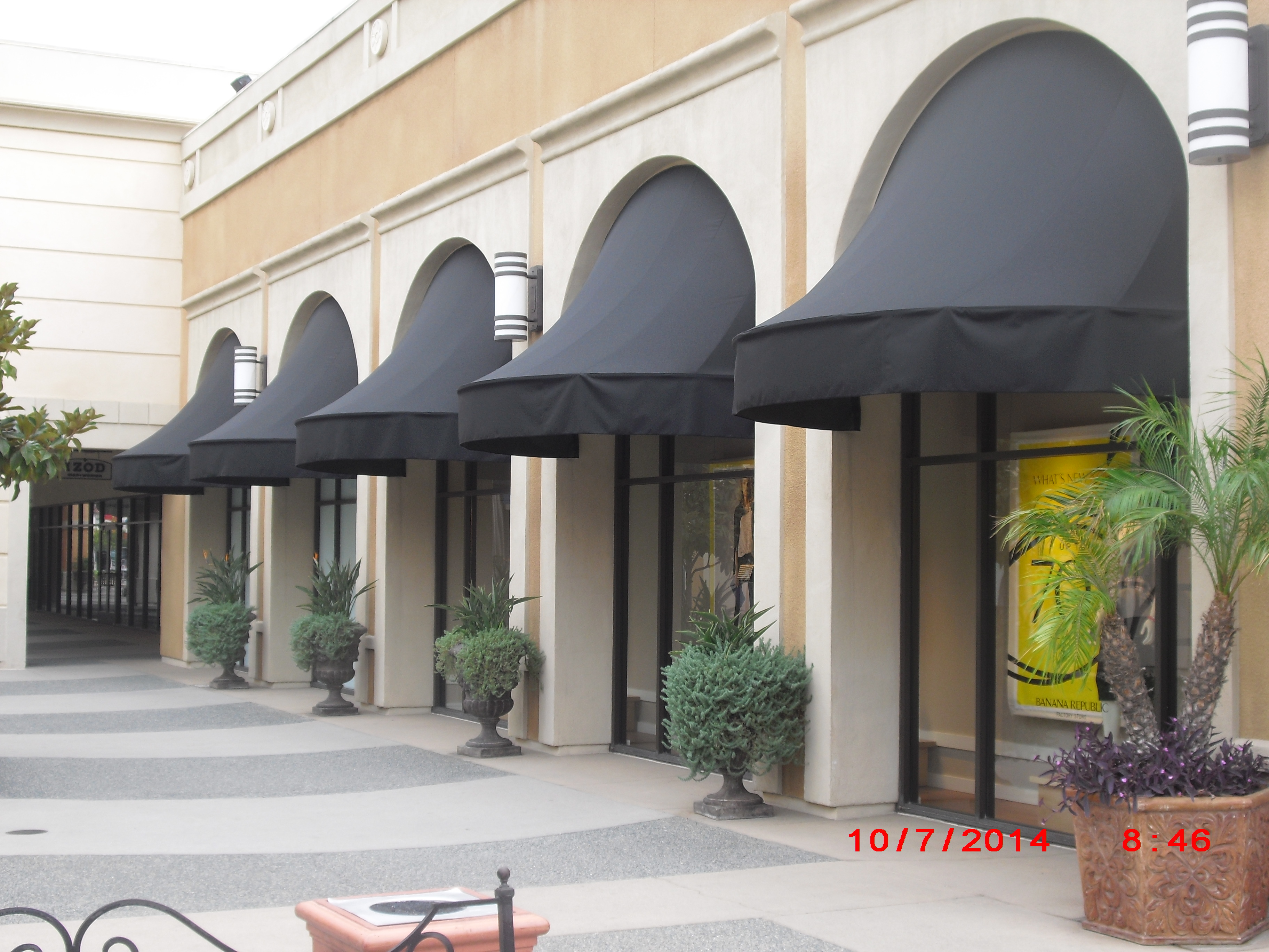 awning commercial chicago awnings and gallery iproview inc miami by manufacturers canopies dome co spear