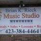 Brian K Rieck Music Studio - Bristol, TN