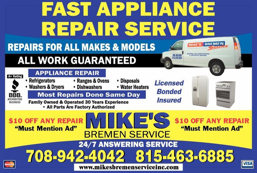 Mike S Bremen Service Inc Tinley Park Il 60477 Yp Com