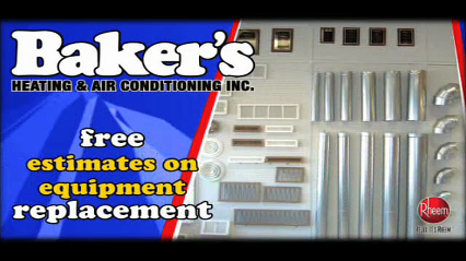 Baker's Heating & Air Conditioning Inc