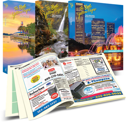 The Real Yellow Pages® - the Original Search Engine (Print Directory)